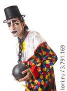 Купить «Грустный клоун с оковами на шее», фото № 3791169, снято 15 июня 2012 г. (c) Elnur / Фотобанк Лори