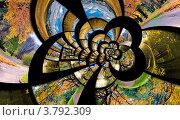Спираль бесконечности с осенними фотографиями. Коллаж, фото № 3792309, снято 19 сентября 2017 г. (c) Liseykina / Фотобанк Лори
