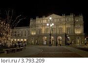 Театр Ла Скала, Милан, Италия (2011 год). Редакционное фото, фотограф Сергей Лисов / Фотобанк Лори