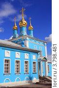 Купить «Коломна.Богоявленская церковь», фото № 3798481, снято 25 августа 2012 г. (c) АЛЕКСАНДР МИХЕИЧЕВ / Фотобанк Лори