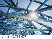 Купить «Металлическая конструкция», фото № 3799677, снято 18 марта 2012 г. (c) Кропотов Лев / Фотобанк Лори