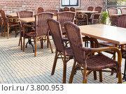 Купить «Уличное кафе», фото № 3800953, снято 20 апреля 2011 г. (c) Анастасия Золотницкая / Фотобанк Лори
