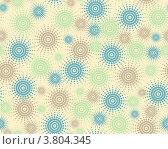 Бесшовные абстрактный цветной фон. Стоковая иллюстрация, иллюстратор Чичина Марина / Фотобанк Лори
