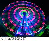 Чертово колесо. Стоковое фото, фотограф Loboda Dmitriy / Фотобанк Лори