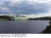 Волховская ГЭС (2012 год). Редакционное фото, фотограф Валерий Никитин / Фотобанк Лори
