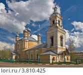 Купить «Церковь Ильи Пророка в Старице», фото № 3810425, снято 7 мая 2012 г. (c) Дмитрий Волков / Фотобанк Лори