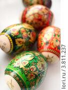 Купить «Пасхальные яйца», фото № 3811237, снято 24 апреля 2010 г. (c) Екатерина Шелыганова / Фотобанк Лори