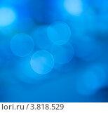 Абстрактный голубой фон. Стоковое фото, фотограф E. O. / Фотобанк Лори