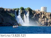 Купить «Анталья, водопад», фото № 3820121, снято 25 августа 2012 г. (c) Валерий Шилов / Фотобанк Лори