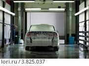 Купить «Автомобильная мойка», фото № 3825037, снято 25 июня 2012 г. (c) Александр Овчинников / Фотобанк Лори
