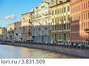 Купить «Река Мойка. Санкт-Петербург», эксклюзивное фото № 3831509, снято 9 сентября 2012 г. (c) Александр Алексеев / Фотобанк Лори