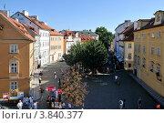 Одна из площадей в Праге (2012 год). Редакционное фото, фотограф Елена Конькова / Фотобанк Лори
