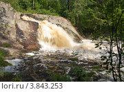 Карелия.Водопад Койринйоки. Стоковое фото, фотограф Светлана Коробова / Фотобанк Лори