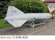 Купить «Советская крылатая противокорабельная ракета П-15 «Термит»», фото № 3848425, снято 22 августа 2012 г. (c) Иван Марчук / Фотобанк Лори