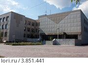 Детская школа искусств. Город Когалым (2012 год). Стоковое фото, фотограф Бордачёва Светлана / Фотобанк Лори