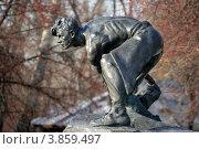 Купить ««Булыжник — оружие пролетариата». Автор И. Д. Шадр», фото № 3859497, снято 24 сентября 2018 г. (c) Ольга Вьюшкова / Фотобанк Лори