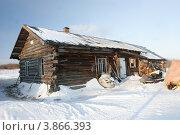 Старый деревянный дом. Стоковое фото, фотограф Юрий Дворников / Фотобанк Лори