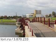 Трехгорбый мостик (2012 год). Стоковое фото, фотограф Валерий Никитин / Фотобанк Лори