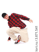 Купить «Хип-хоп танцор делает телодвижения», фото № 3871541, снято 5 сентября 2012 г. (c) Tatjana Romanova / Фотобанк Лори