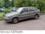 Купить «Хэтчбек ВАЗ - 2109», фото № 3874641, снято 7 июня 2012 г. (c) Павел Кричевцов / Фотобанк Лори