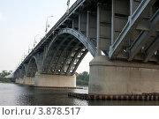 Купить «Бийск. Мост через реку Бия», фото № 3878517, снято 8 августа 2012 г. (c) Александр Бурдовицин / Фотобанк Лори