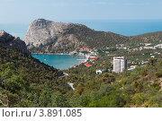 Купить «Поселок Новый Свет. Крым», фото № 3891085, снято 29 июня 2012 г. (c) Антон Стариков / Фотобанк Лори