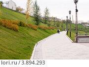 Набережная Туры, Тюмень (2011 год). Редакционное фото, фотограф Снигирев Сергей / Фотобанк Лори