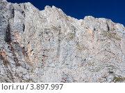 Купить «Фишт, скала», эксклюзивное фото № 3897997, снято 25 сентября 2012 г. (c) Алексей Букреев / Фотобанк Лори