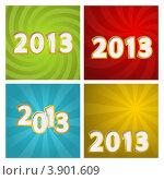 Купить «Набор новогодних открыток 2013», иллюстрация № 3901609 (c) Евгения Малахова / Фотобанк Лори
