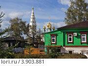 Купить «Приволжск, Ивановская область», фото № 3903881, снято 21 сентября 2012 г. (c) ElenArt / Фотобанк Лори