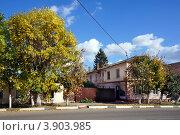 Купить «Осень в городе. Приволжск, Ивановская область», фото № 3903985, снято 21 сентября 2012 г. (c) ElenArt / Фотобанк Лори