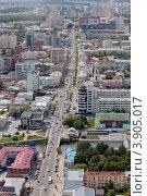 Улица Малышева в Екатеринбурге (2012 год). Редакционное фото, фотограф Госьков Александр / Фотобанк Лори