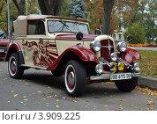 Ретроавтомобиль Adler Trumpf Junior (2012 год). Редакционное фото, фотограф Роман Коваленко / Фотобанк Лори