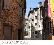Купить «Улица города Ровинь. Хорватия. Европа», эксклюзивное фото № 3912805, снято 22 апреля 2019 г. (c) lana1501 / Фотобанк Лори