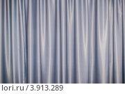 Купить «Серая ткань со складками», фото № 3913289, снято 17 сентября 2012 г. (c) Дмитрий Брусков / Фотобанк Лори
