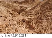 Горный пейзаж в пустыне (2011 год). Стоковое фото, фотограф Shlomo Polonsky / Фотобанк Лори