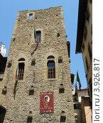 Музей Данте Алигьери во Флоренции (2012 год). Редакционное фото, фотограф Елена Верховых / Фотобанк Лори