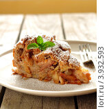 Купить «Милопита - греческий яблочный пирог», фото № 3932593, снято 15 октября 2011 г. (c) Татьяна Ворона / Фотобанк Лори