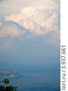 Облака над морем (2012 год). Стоковое фото, фотограф Ольга Ларина / Фотобанк Лори