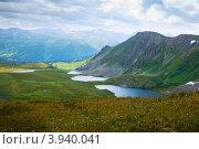 Купить «Озера в горах Алтая», фото № 3940041, снято 18 июля 2011 г. (c) Яков Филимонов / Фотобанк Лори