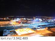 Вид на железнодорожный район. Улан-Удэ (2012 год). Редакционное фото, фотограф Юрий Кузнецов / Фотобанк Лори