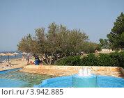 """Купить «Курортный отель """"Laguna Materada 3*"""", город Пореч, Хорватия, Европа», эксклюзивное фото № 3942885, снято 25 апреля 2019 г. (c) lana1501 / Фотобанк Лори"""