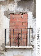 Купить «Старая балконная дверь», фото № 3944485, снято 22 марта 2019 г. (c) Shlomo Polonsky / Фотобанк Лори
