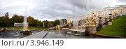 Купить «Фонтаны и скульптуры главного каскада. Петергоф», эксклюзивное фото № 3946149, снято 22 сентября 2012 г. (c) Литвяк Игорь / Фотобанк Лори