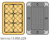 Дизайн рубашки игральных карт. Стоковая иллюстрация, иллюстратор Silanti / Фотобанк Лори