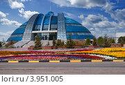 Купить «Музей Нурсултана Назарбаева в Темиртау. Историко-культурный центр первого президента Казахстана.», фото № 3951005, снято 21 июля 2012 г. (c) Валерий Тырин / Фотобанк Лори