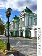 Купить «Город Омск, Омский академический театр драмы, построен 1905 году», фото № 3952261, снято 9 октября 2012 г. (c) Виктор Топорков / Фотобанк Лори