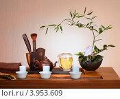 Натюрморт с чаем. Стоковое фото, фотограф Ольга Киселева / Фотобанк Лори