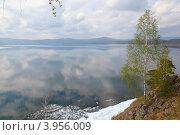 Озеро Тургояк весной. Стоковое фото, фотограф Виталий Горелов / Фотобанк Лори