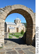 Купить «Монастырь Градац в Сербии», фото № 3958709, снято 8 октября 2012 г. (c) Алексей Пугачев / Фотобанк Лори